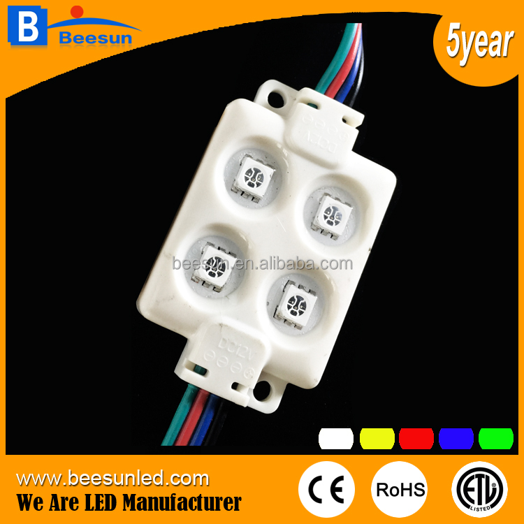 RoHS CE approved high power 1W RGBW led <strong>module</strong> 4leds for lightbox