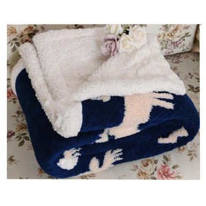 16 Years BV Audited OEM orders factory customized sherpa fleece throw blankets