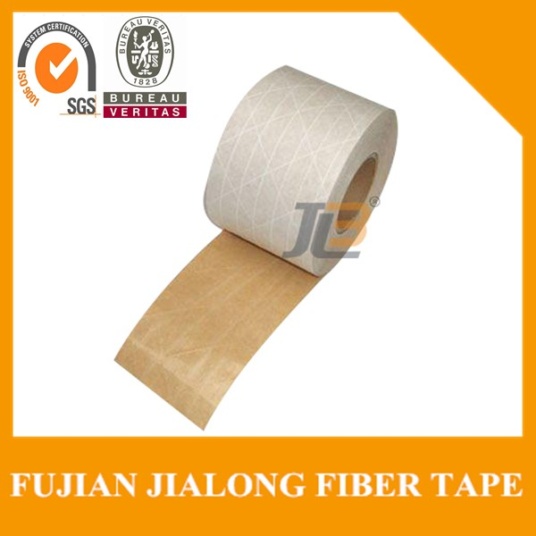 kraft paper gummed adhesive packaging tape with SGS