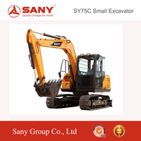 SANY SY75 7.5T Small Crawler Excavator Hydraulic Excavator of Soil Digger