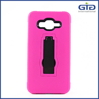 GGIT Silicone+PC Case For Samsung For Galaxy Grand Prime G530 With Support