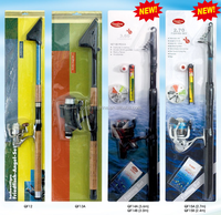 high quality telescopic fishing rod