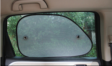 mesh car window sunshade and Nylon Material side window sunshade and Front Windshield Shades Type and
