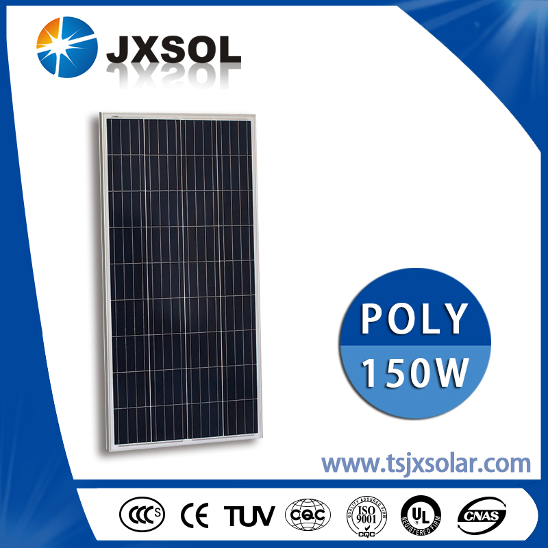 High Power Solar Equipment 150W PV Solar Panel/High Quality Poly Solar Module 150 Watt