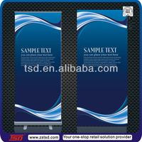 TSD-B007 pvc banner roll/Promotion Banner Stand/Adjustable display banner stand