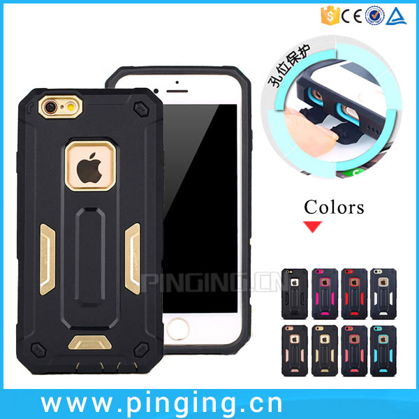 Import Mobile Phone Accessories For iPhone 6S Cover,Dual Layers Shockproof Case Cover For iPhone6 6S