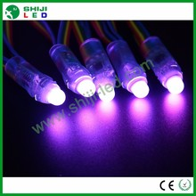 50pcs 12mm diffused led pixel rgb dmx christmas string light