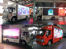 Mobile LED Roadshow Truck with Full Color Outdoor Display Screen P5 P6 P8 P10