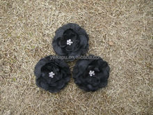 Handmade chiffon flowers for decoration,decorative chiffon flowers for dresses