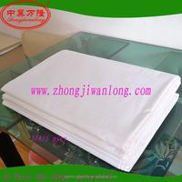 Cheap microfiber polyester cotton 3d twill full queen king bed sheet