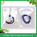 Wholese clear self sealing plastic jewelry packaging bag