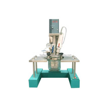 Chemical Customized High Speed Shear Homogenized Glass Reactor Vacuum Homogenizing Emulsifier Mixer Reactor