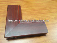 Aluminum profiles/WOOD GRAIN COATING /aluminium 6061 6063 T4 T5 T6