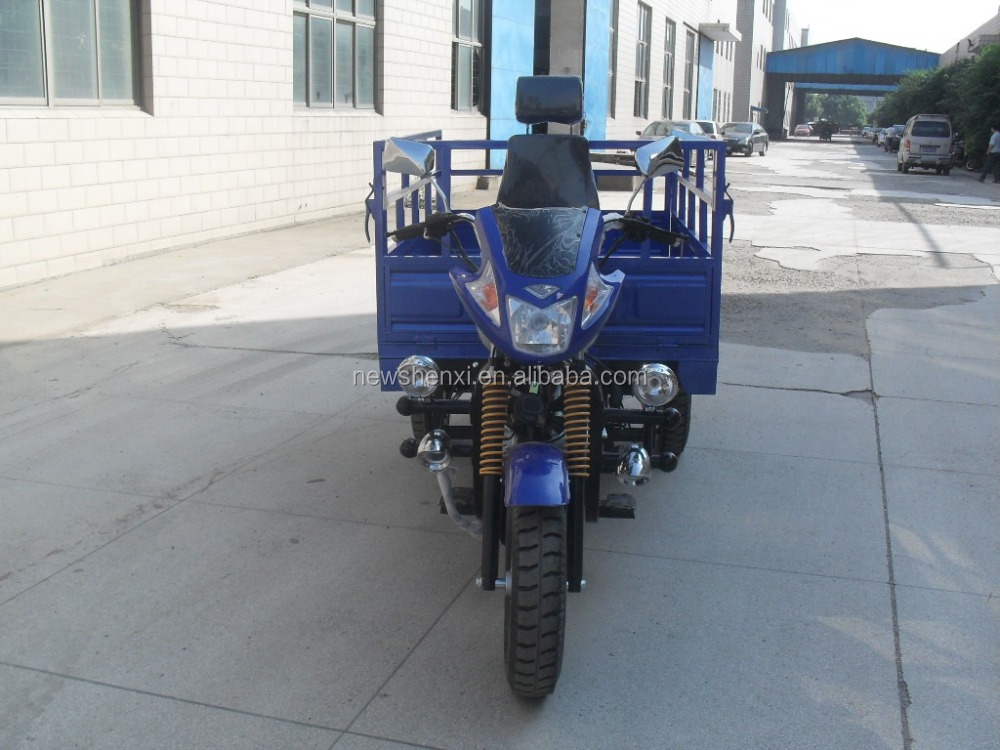 Hot Sale Enclosed Box Heavy Load Three Wheel Cargo Motor Tricycle For Sale