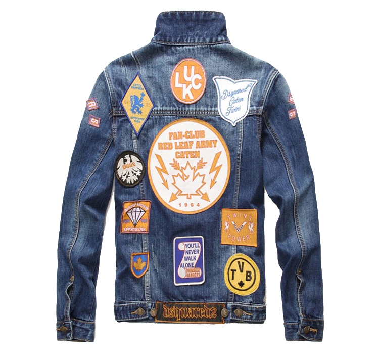 Custom Jean Jacket Patches Hand Embroidery badges Designs