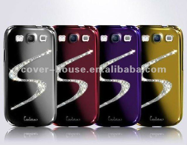 Diamond hard case for samsung galaxy S3 i9300