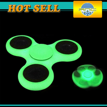 2017 New Styles Luminous LED Fidget Spinner EDC Hand Spinner For Autism and ADHD Rotation Fashion personality night glow toys