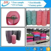 Healthy sport non-toxic eva 3d foam for embroidery /foam roll