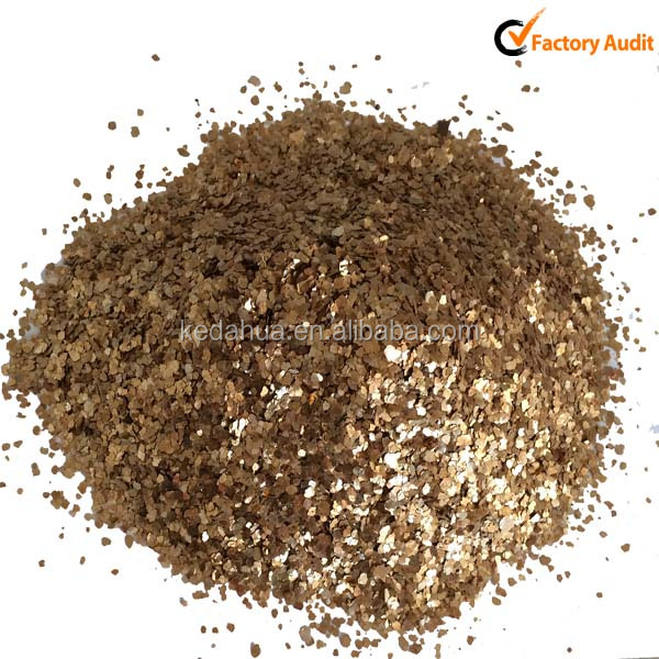 Gold Mica with decoration using