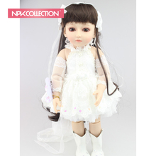 NEW Design Beautiful SD/BJD doll 18inch top quality handmade doll poseable with joints for girls toys