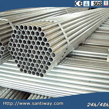 Cold-rolled Q215 Steel Round Tube, oil and gas constructions