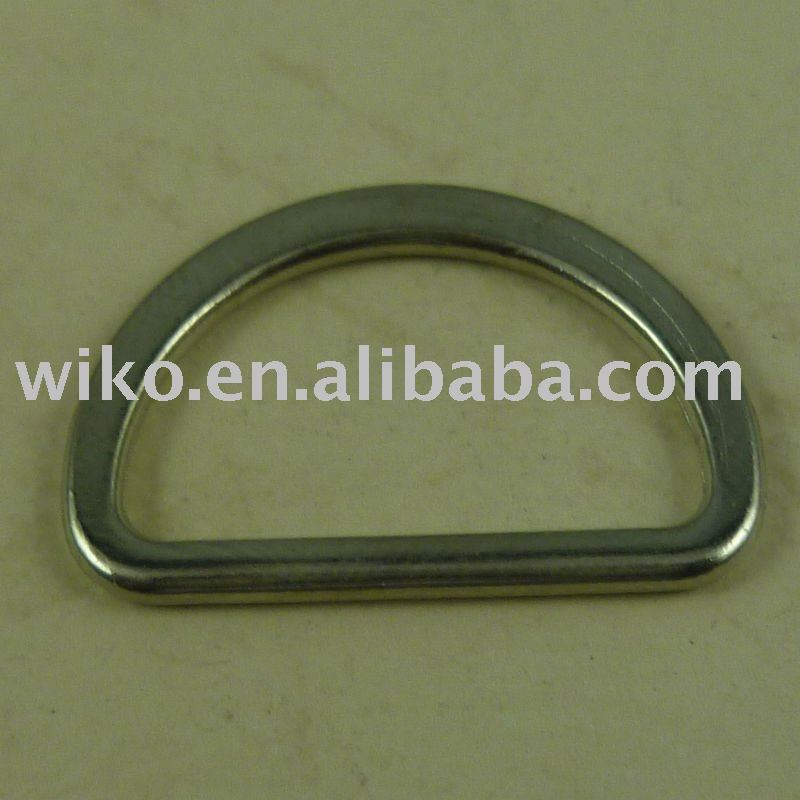 fashion Zinc Alloy D buckle