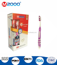 M2000 Hot Sale Good Quality Customize Print Logo Toothbrush