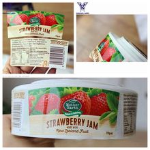 high quality strong adhesive prodcuts labels for food containers