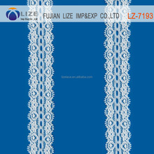 polyamide/spandex elastic lace in stock lz-7193A