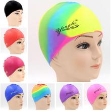 Wholesales 30g 50g cheap flat silicone swimming caps