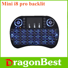 2017 Best selling Mini i8 Pro air mouse backlit guangdong 2.4g mini fly gyro wireless keyboard With Factory Wholesale Price