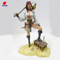 Resin Lady Figurine, Polyresin Woman Action Figure, Custom Poly Statue