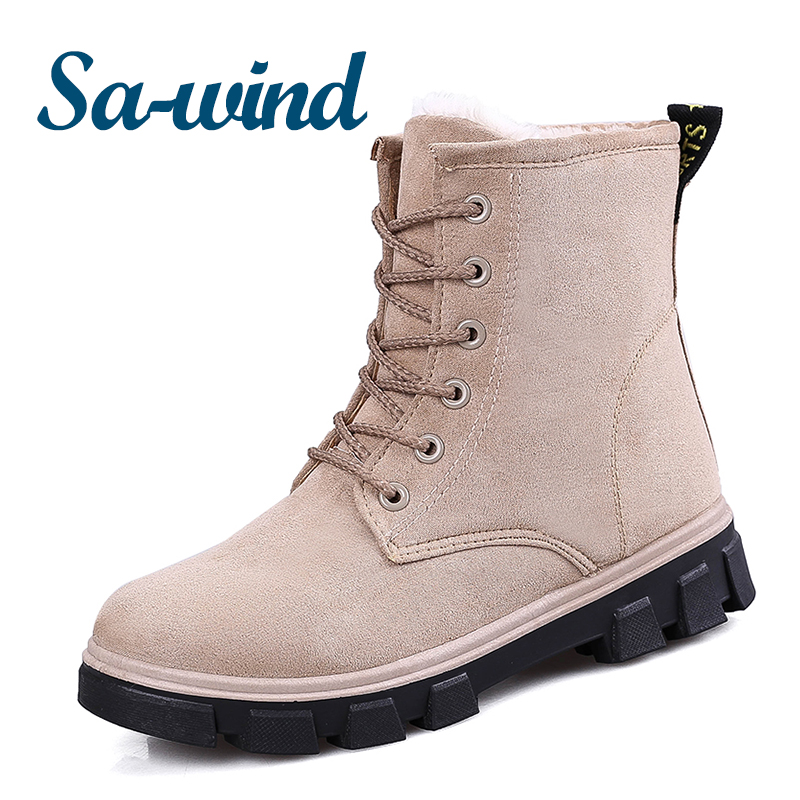 hot selling woman winter <strong>boots</strong> casual high heel warm shoes 2017