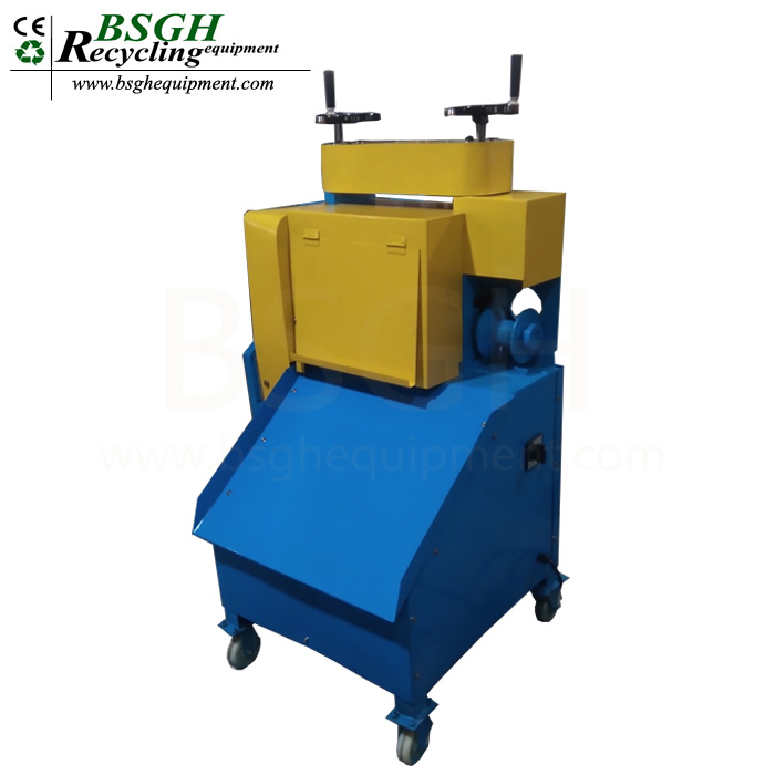 BS-KOC copper wire stripper machine spear parts durable waste wire peeling machine for sale