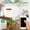 App Controlled by smartphone Home Security Alarm host ,home intruder alarm system with IOS App +Android APP