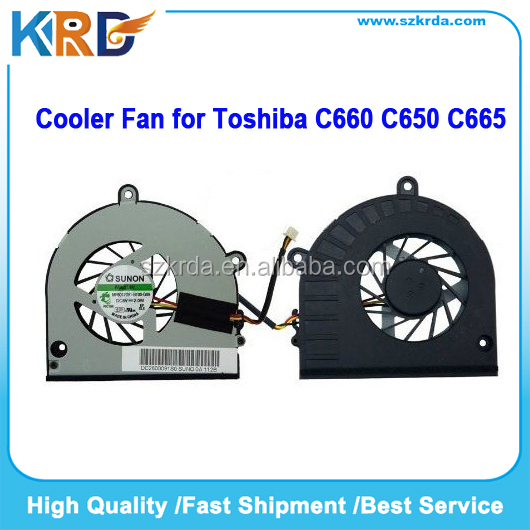 Original new Laptop Cooler Fan for Toshiba Satellite C660 C665 C655 C650