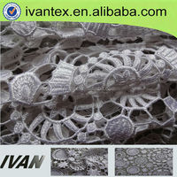 Hot Selling Design Swiss Bridal Embroidery Lace Fabric