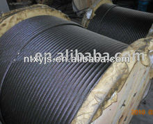 non rotating steel wire rope/anti-twisting galvanized