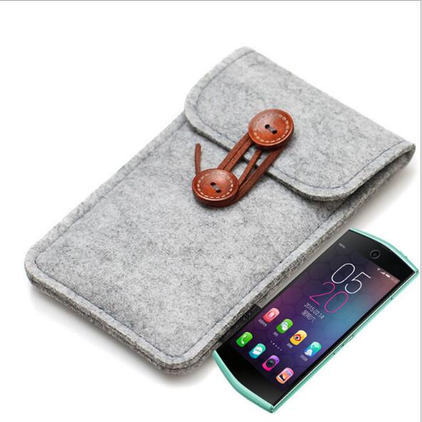 FB0080 High Quality Hot Sales Fancy Polyester Felt Cell Phone Case Promotional