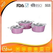 mordern design 6 pcs pots set cookware aliba a