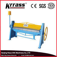 Cheap 2x1300mm Manual China Manual Bending machine , folding machine manufacturer