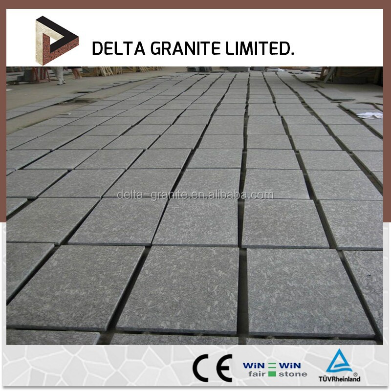 Hot sale, standard royal brown granite paving