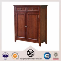 Shoe storage cabinet solid wood shoe cabinet for living room