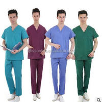 Medical Scrubs And Surgical Gown And