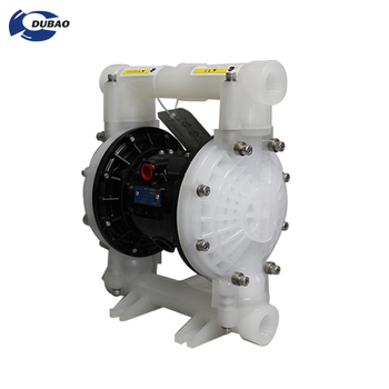 PP pneumatic self- priming sludge pump Magnetic air operated double drum diaphragm pump