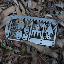 hot sell BWITHU outdoor camping survival multi- tool card