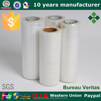 Removable Clear Plastic Hand Stretch Film Rolls