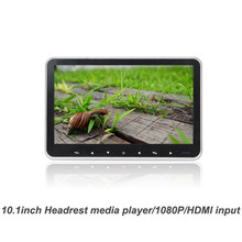 Hot! auto 10.1inch headrest media player with touch key, HDMI input