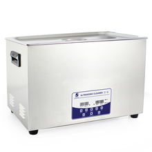 30L 600W Heater Digital Timer Bracket Jewelry Cleaning Stainless Steel Ultrasonic Cleaner