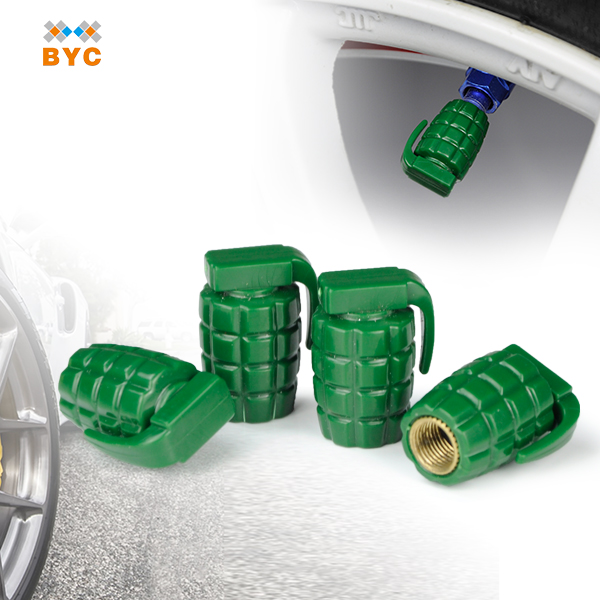 BYC Chinese Motorcycle Accessories And Parts Tire Valve Caps